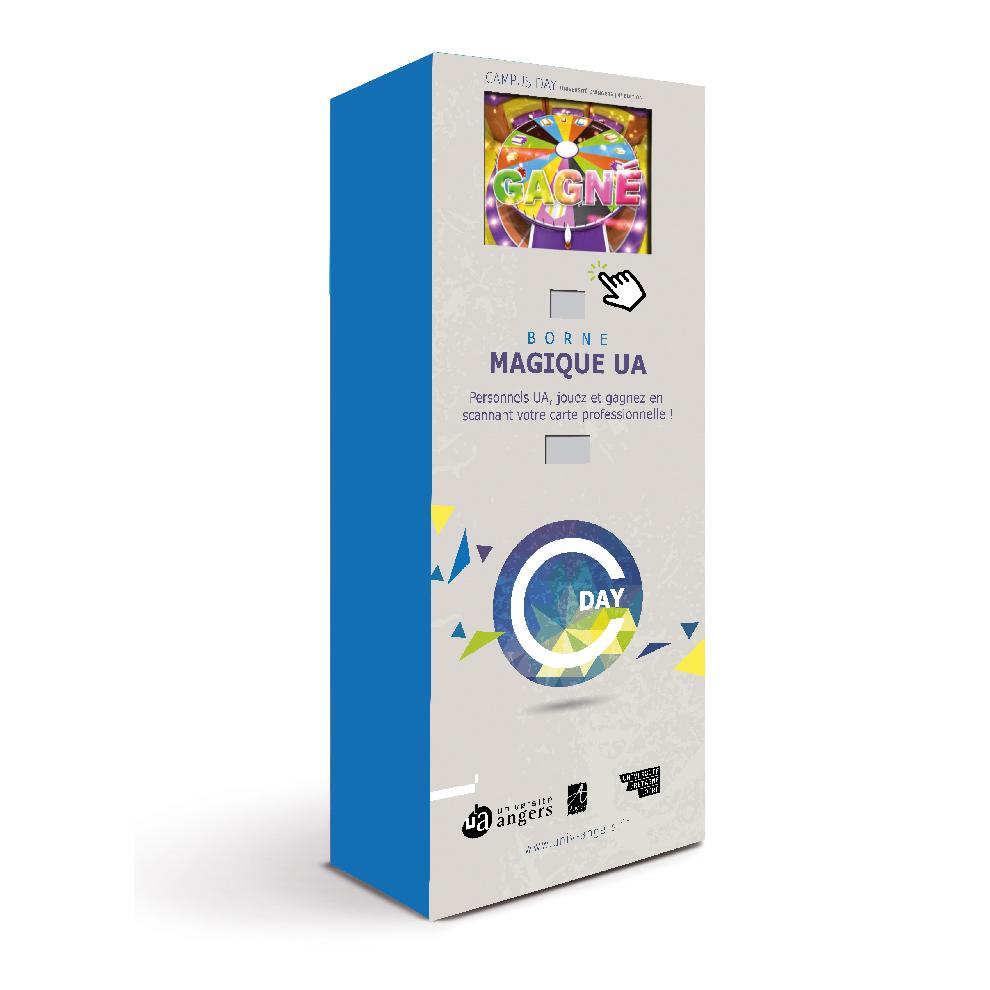 bornes-de-jeu-interactives-1-joueur-animation-porte-ouverte-decor-personnalisé-Opération-Université-Angers- la-borne-magique
