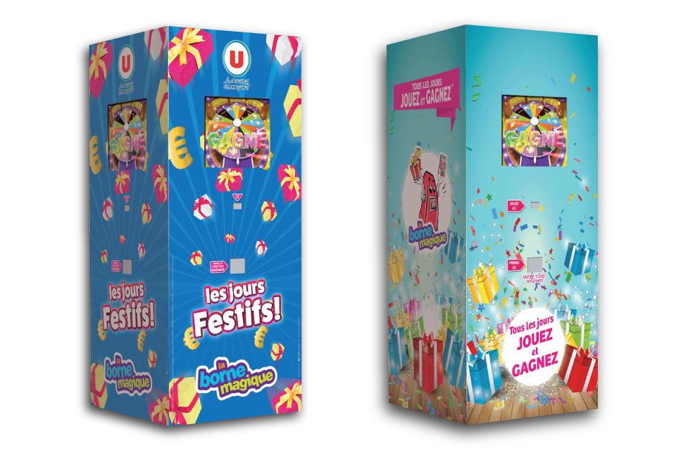 Borne-jeu-collecte-de-donnees- 1,2 ou 3 joueurs-animations-commerciales-galerie-salons-la-borne-magique