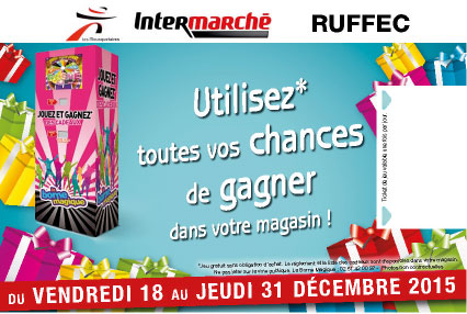 Flyer verso-10x15cm-Animation-magaisn-Intermarché Ruffec